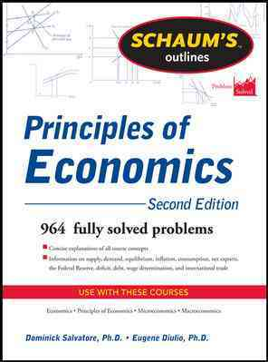 Schaum's Outline of Principles of Economics By Salvatore, Dominick/ Diulio, Eugene